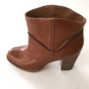 Anthropologie Aerin Womens Ankle Leather Boots 7